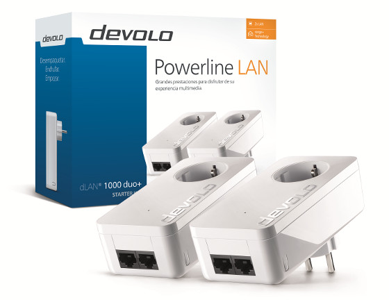 Devolo PLC-Powerline dLAN 1000 duo+