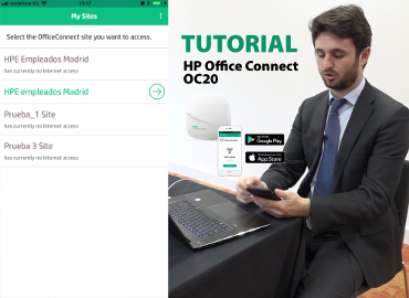 Cómo montar una red inalámbrica con HP Office Connect OC20